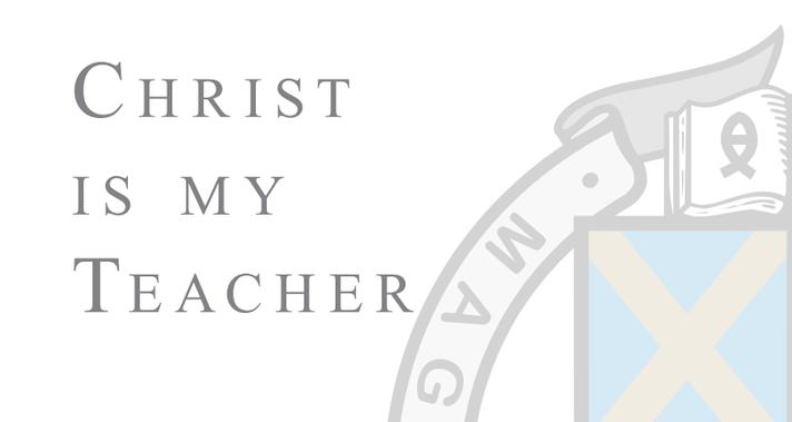 christ is my teacher