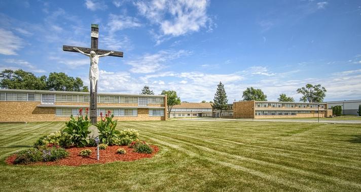 Andrean Catholic School building exterior